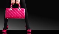La couleur rose bonbon pour les accessoires de mode