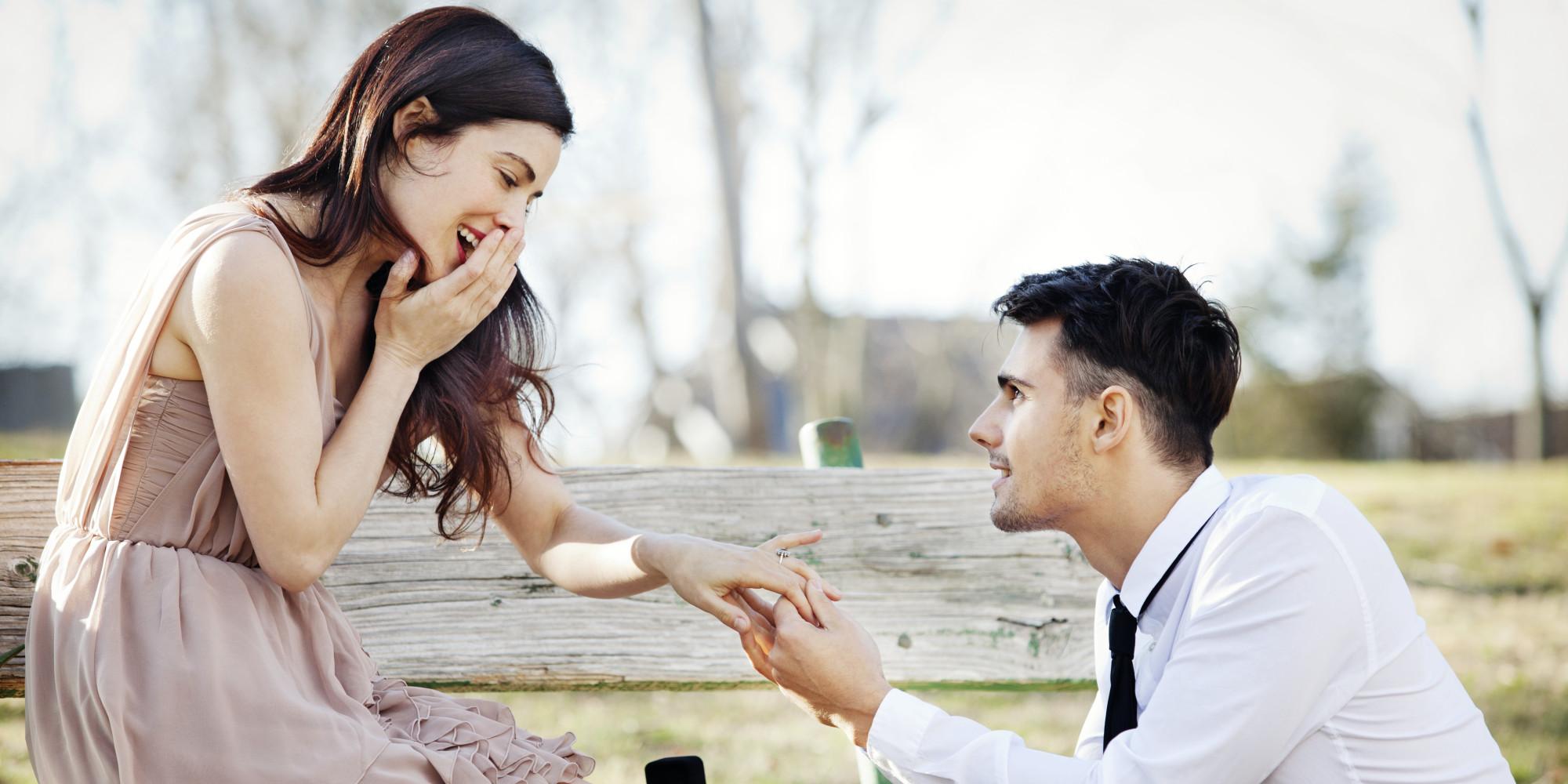 Demande de mariage originale