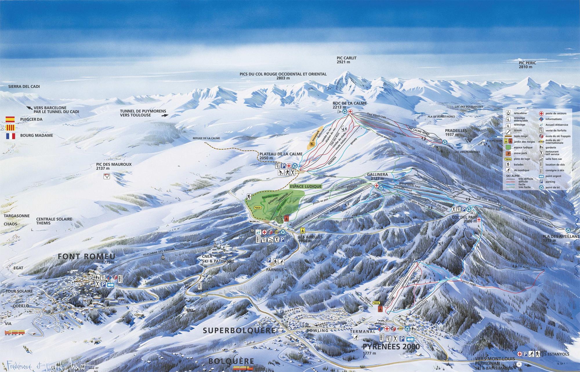 Des vacances dans un domaine skiable pyrénées