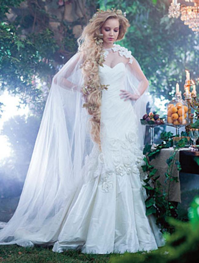 Une robe de mariée féérique sur robedemariee.pro