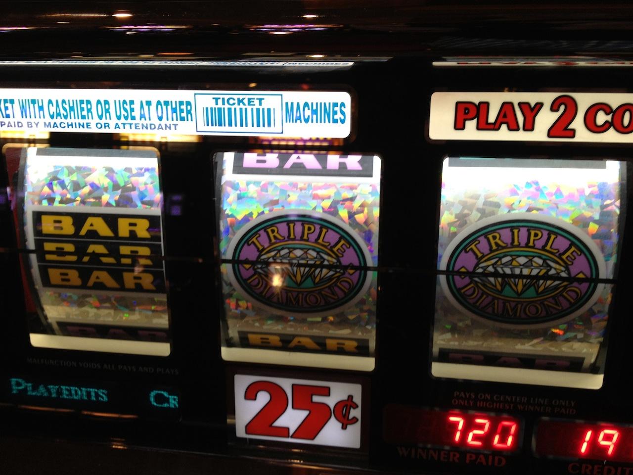 Machines a sous : mon jeu favori