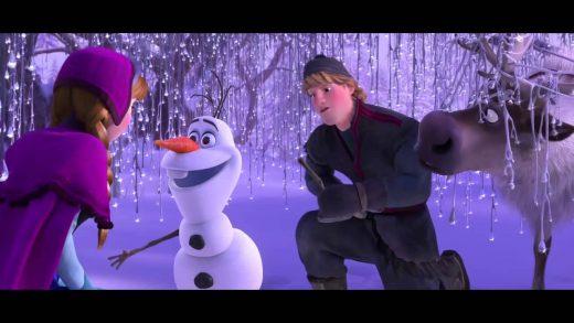 extrait la reine des neiges