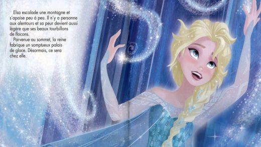 la reine des neiges texte
