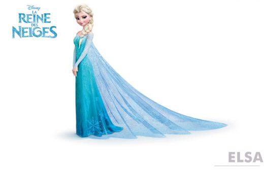 personnage reine des neige