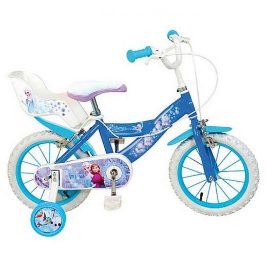 vélo reine des neiges 14 pouces